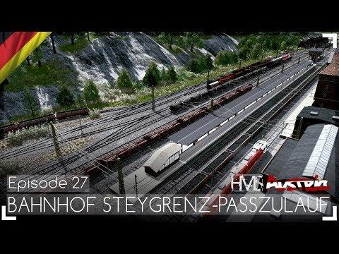 BAHNHOF STEYGRENZ-PASSZULAUF - Austria Episode 27 | Let's Design Cities: Skylines