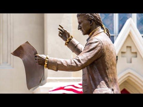 New Brunswick Public Sculpture - Col. John Neilson Statue Unveiling