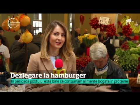 Hamburger, varianta vegetală