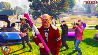 HikePlays: GTA 5 PIGGY HUNT!!! - Playing Mini-Games w/ The Crew - GTA Piggy Hunt (GTA 5)