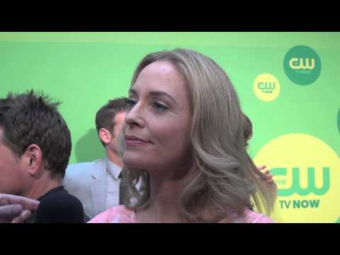 Susanna Thompson - Arrow - CW Upfronts