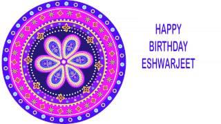 Eshwarjeet   Indian Designs - Happy Birthday