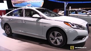 2016 Hyundai Sonata Plug-In Hybrid - Exterior, Interior Walkaround - Debut at 2015 Detroit Auto Show