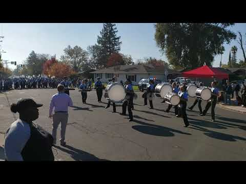 ECHS Gaucho Marching Brigade Percussion at Lincoln Band Review of Champions 2019