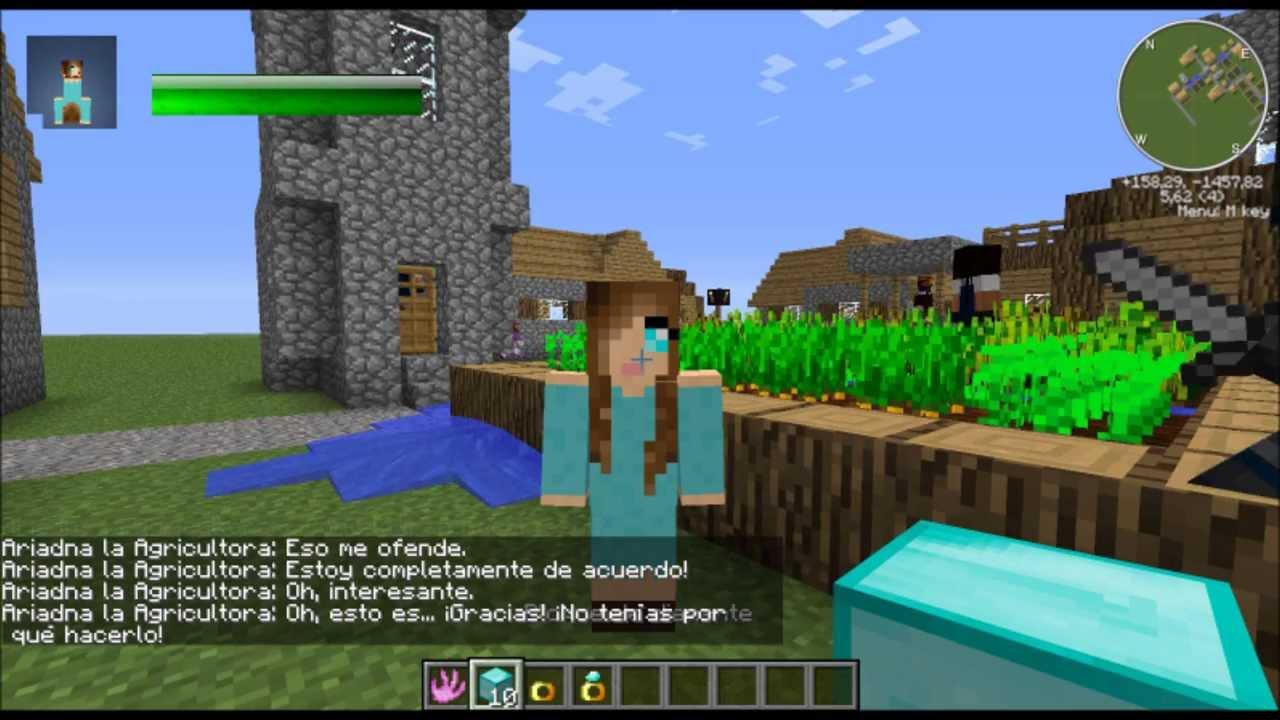 Como Tener Mujer E Hijos En Minecraft (Comes Alive)