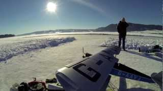 Gipsy Moth RC scale with OS IL-300 Dia Maiden flight part 1/3 Norway lake Mjøsa