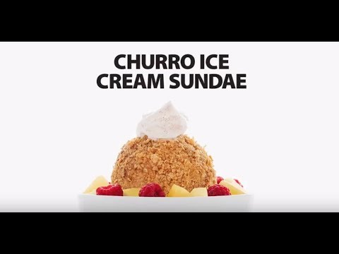 Churro Ice Cream Sundae | Walmart Canada