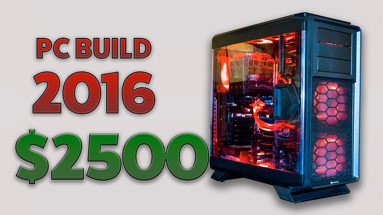 Pc build guide 2016 how to build an epic gaming and for Pc retouche photo 2016