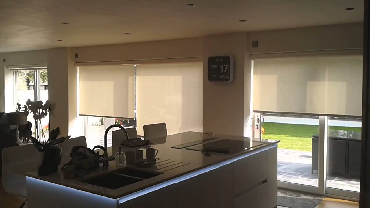 Broadview Louvolite Electric Roller Blinds Youtube