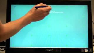 Калибровка экрана у резистивных моноблоков MSI 1280x720(, 2012-01-12T07:55:23.000Z)