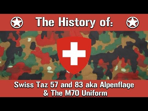 Switzerland's Red Camouflage: Taz 57 & 83 Aka Alpenflage And The M70 Uniform | Uniform History