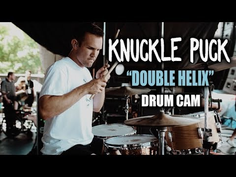 Knuckle Puck | Double Helix | Drum Cam (LIVE)