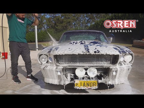 Ford Mustang GT500 Eleanor (Detailed Wash Steps)