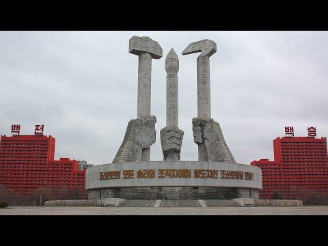 Inside North Korea: crazy monuments of Pyongyang
