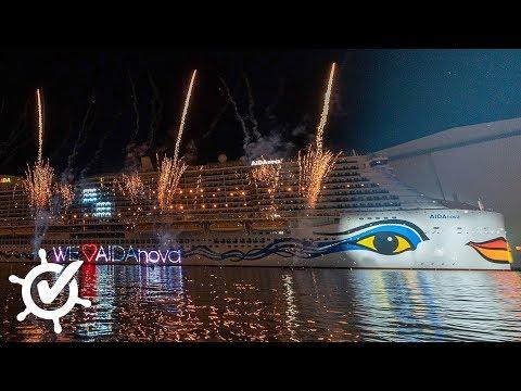 AIDAnova: Taufe (komplette Zeremonie), Schiffstester-Express und David Guetta (Vlog)