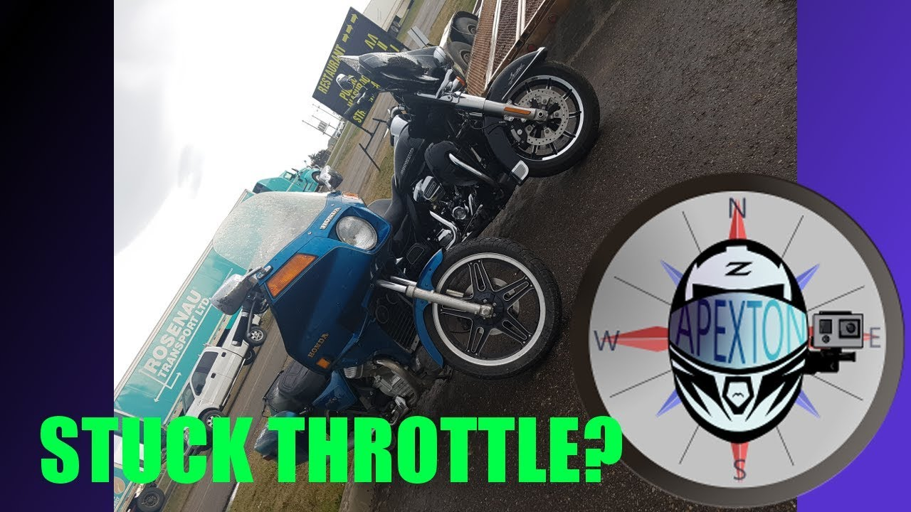 Riding With A Harley + Stuck Throttle