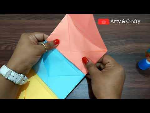 DIY Mini Scrapbook / How to make Scrapbook / Easy Envelope Mini Album For Friends