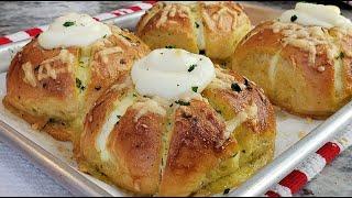 Korean Cream Cheese Garlic Bread   Korean Street Food Recipe   Simply Mama Cooks