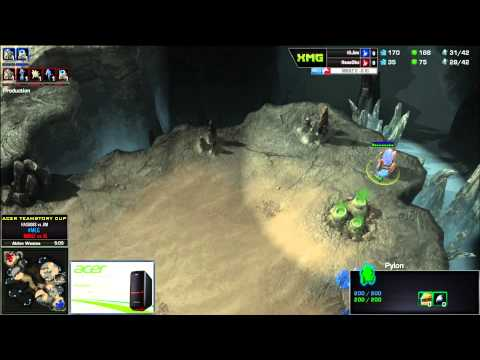 HasuObs (P) vs Jim (P) - Acer TeamStory Cup - Mouz vs Invictus Gaming - Game 1