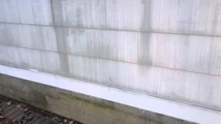 Cement asbestos siding