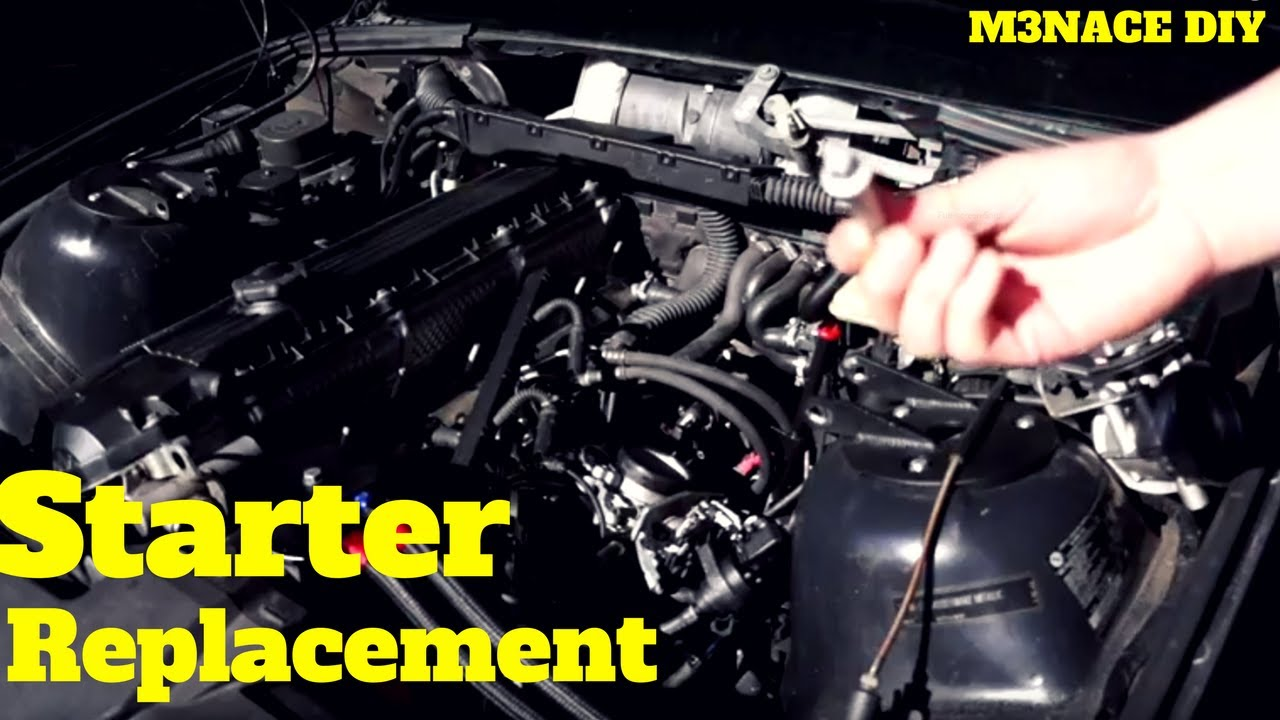 Bmw E36 Starter Motor Wiring Diagram Manual Of Images Gallery Replacement Youtube Rh Com