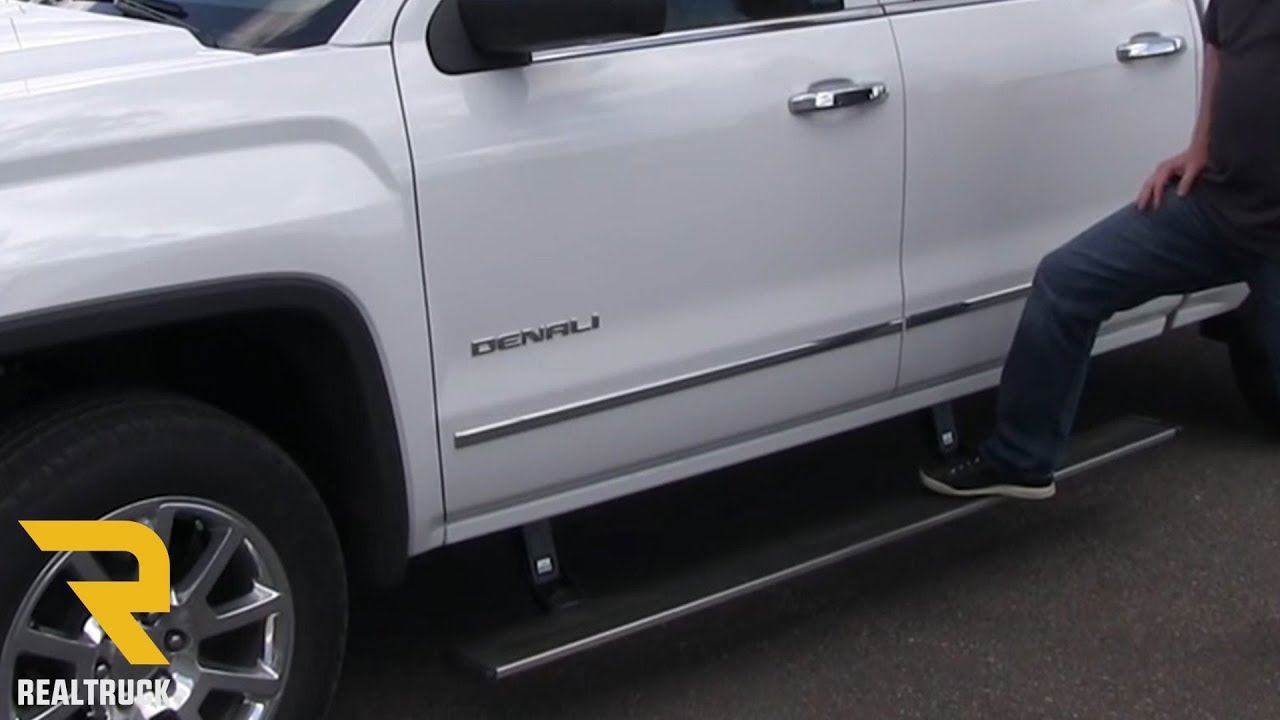 Amp Research Powerstep Running Boards On A Gmc Sierra Denali Fast
