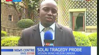 MPs continue with probe into the Solai Dam Tragedy