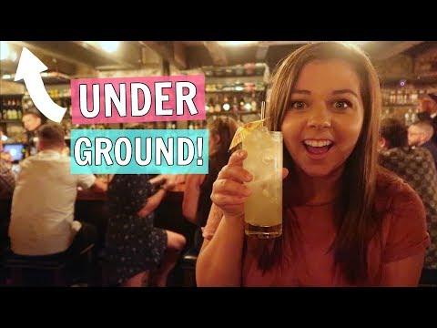 I Went To A Secret Speakeasy Bar UNDERGROUND! Canada Travel Vlog!