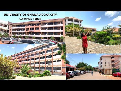 UNIVERSITY OF GHANA ACCRA CITY CAMPUS TOUR  NANCY OWUSUAA