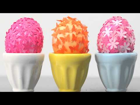 Carole's Crafts: Decorate Easter Eggs with Paper