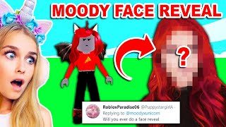 Is My BEST FRIEND *MOODY* Going To Do A FACE REVEAL? (Roblox)