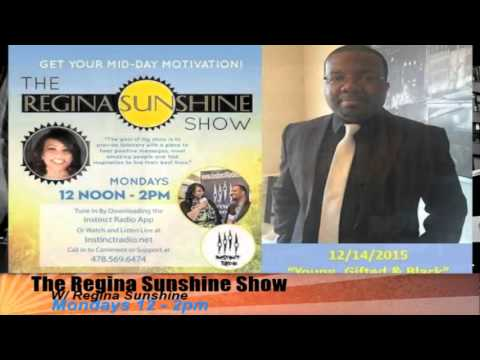 """Young, Gifted & Black"" On The Regina Sunshine Show"