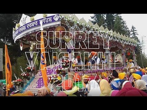 Surrey Vaisakhi Parade - 2017 - Nagar Kirtan