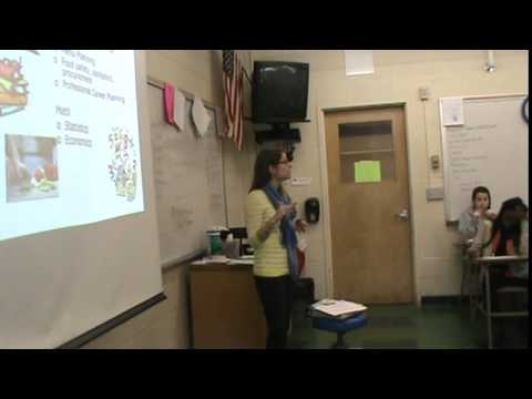 Dietician Speaks To MCA Academy At Manchester High School
