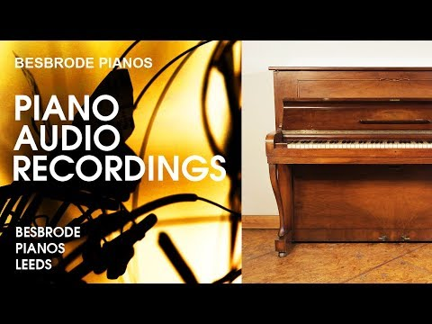 Well You Needn't by Thelonious Monk - Improvisation on a Steinway Model Z at Besbrode Pianos