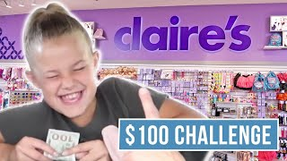 Spend $100 In One Hour | Reese's Birthday Shopping | The LeRoys