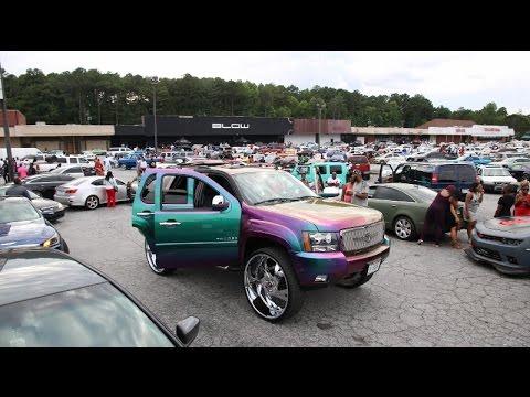 Whipaddict Stuntworld Block Party Custom Cars Big Rims Atlanta