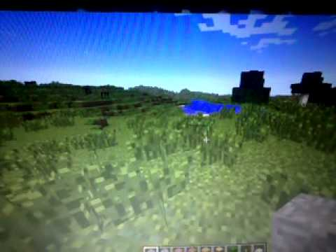 Minecraft on peu volé comme superman