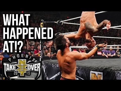 WHAT HAPPENED AT: NXT TakeOver Phoenix