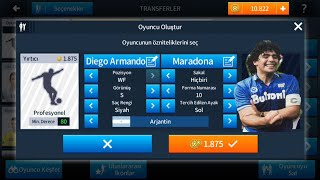 MARADONA YI OLUSTURDUM! DREAM LEAGUE SOCCER 2018