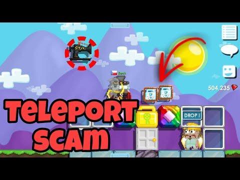 Teleport SCAM GLITCH   | Growtopia