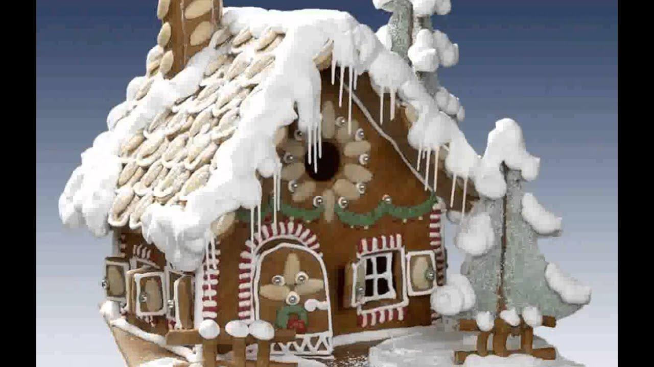 lebkuchenhaus weihnachten ideen youtube. Black Bedroom Furniture Sets. Home Design Ideas