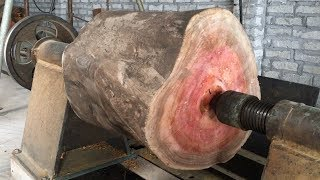 Amazing Techniques Extreme Fast Woodworking Creative Smart - Work Wooden Lathe Art thumbnail