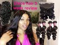 The truth about Unice hair| 3 Week Review
