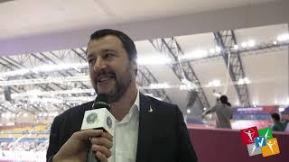 Doha - Campionato del Mondo M/F: intervista al ministro Matteo Salvini