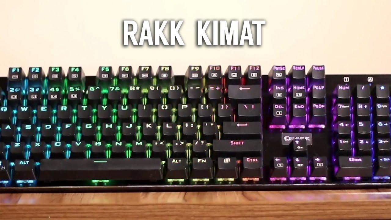 Rakk Kimat XT Mechanical RGB Keyboard (Unboxing & Review ...