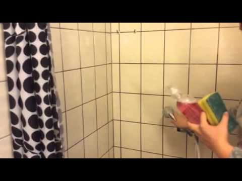 rengøring brusekabine Rengøring af bruseniche   YouTube rengøring brusekabine