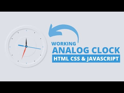 Creating Analog Clock in Html/Css thumbnail