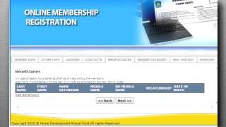 online membership registration