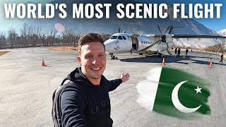 WORLD's MOST SCENIC FLIGHT? - PAKISTAN AIR to GILGIT!